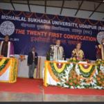 Mohanlal Sukhadia University,(MLSU - Udaipur)