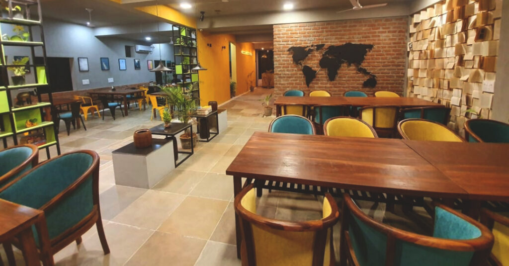 House of words coworking space